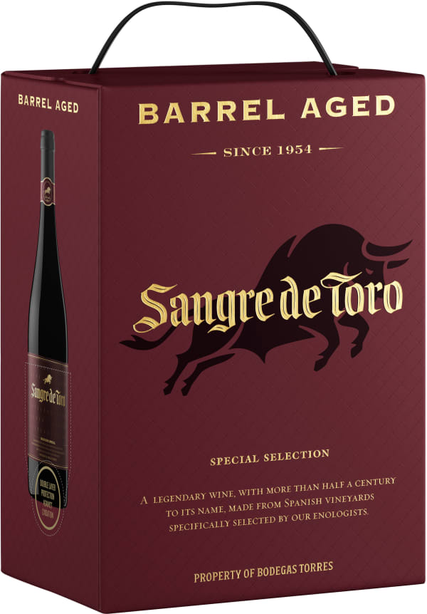 Gran Sangre de Toro Barrel Aged 2015 lådvin