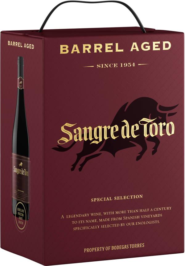 Sangre de Toro Barrel Aged 2015 hanapakkaus