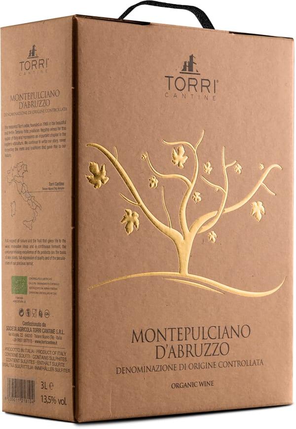 Torri Cantine Montepulciano d'Abruzzo Organic 2019 lådvin