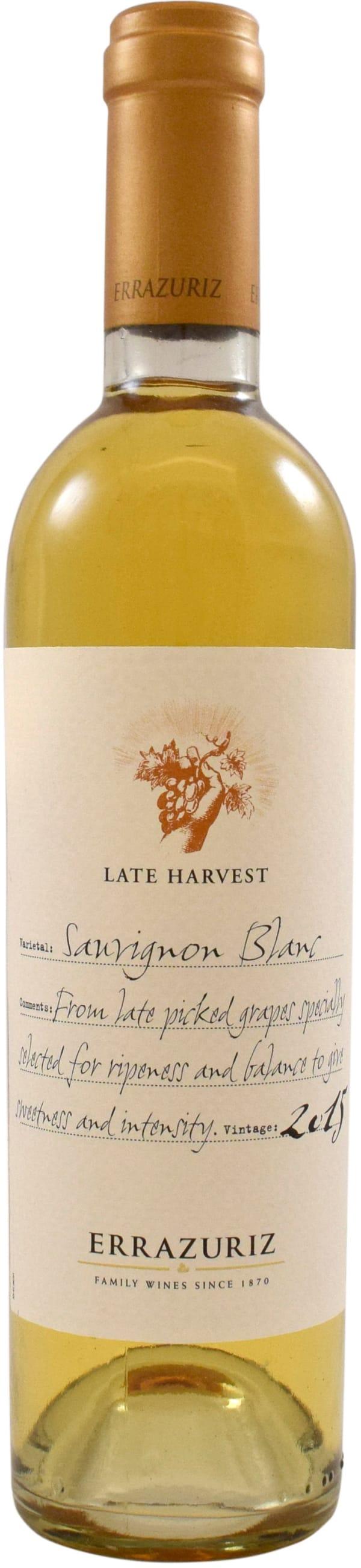 Errazuriz Late Harvest Sauvignon Blanc 2015
