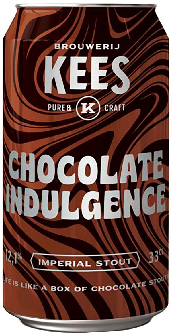 Kees Chocolate Indulgence Imperial Stout can
