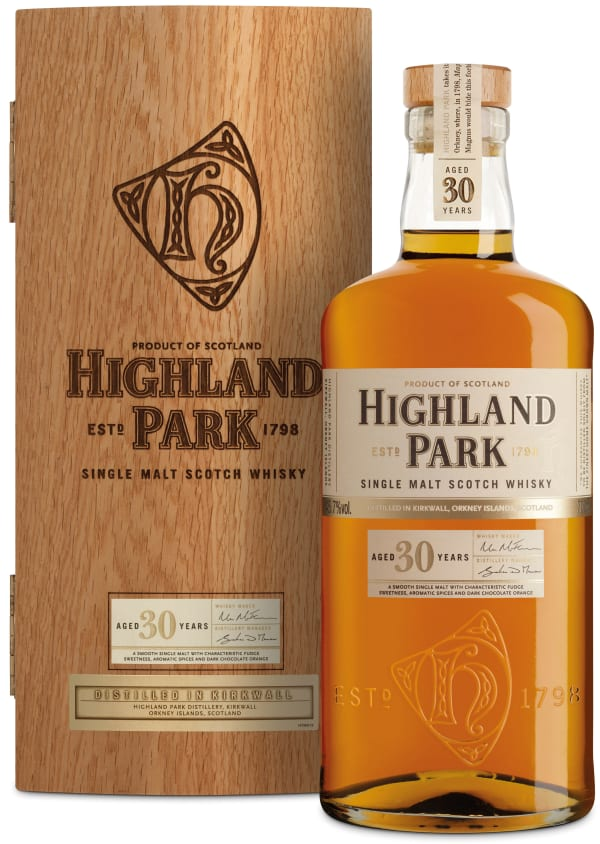 Highland Park 30 Year Old Single Malt