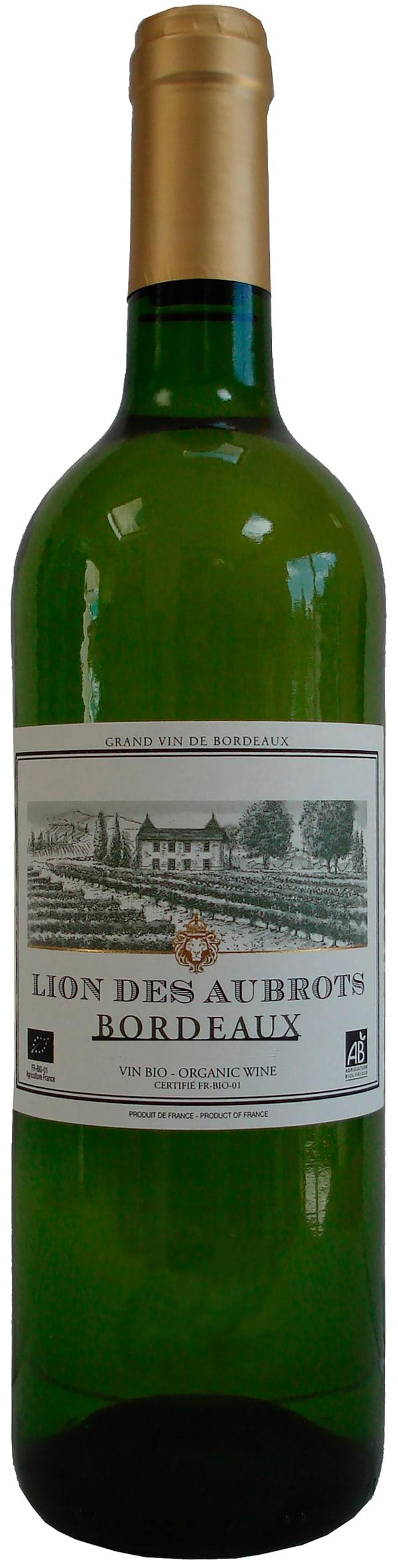 Lion Des Aubrots Bordeaux Organic blanc 2016