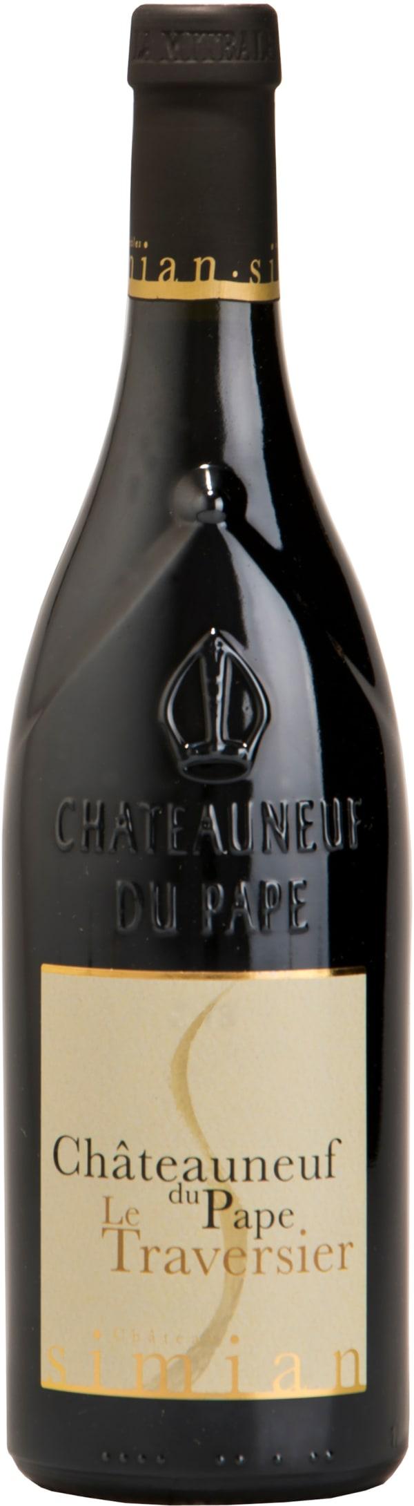 Château Simian Châteauneuf-du-Pape Le Traversier 2014