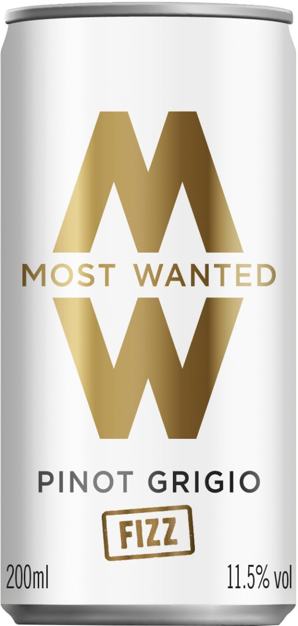 Most Wanted Pinot Grigio Fizz can