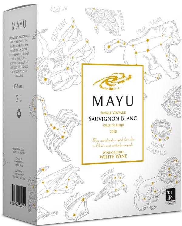 Mayu Single Vineyard Sauvignon Blanc 2018 bag-in-box