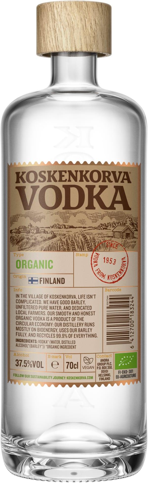 Koskenkorva Vodka Organic