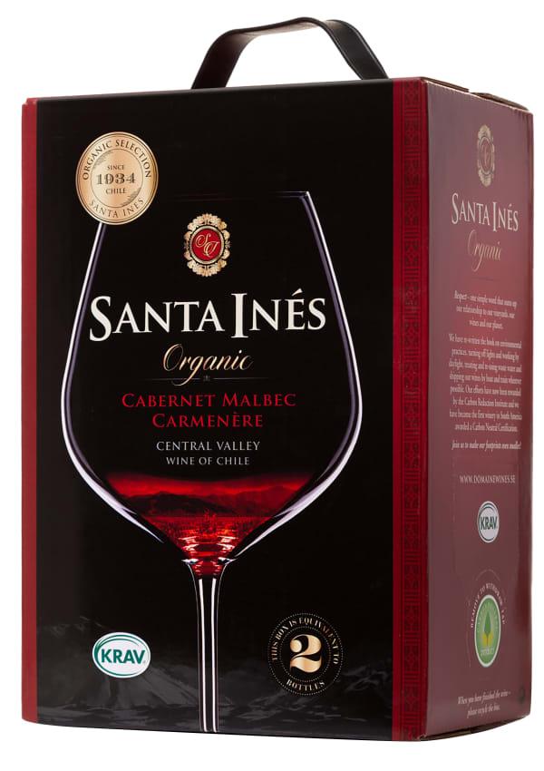 Santa Inés Organic Cabernet Malbec Carmenère lådvin