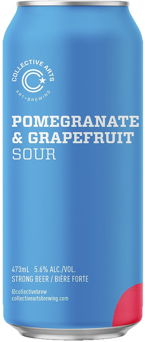 Collective Arts Pomegranate Grapefruit Sour burk
