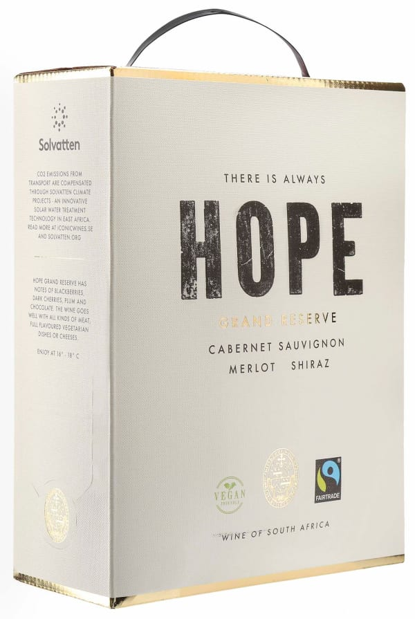 Hope Grand Reserve 2020 bag-in-box