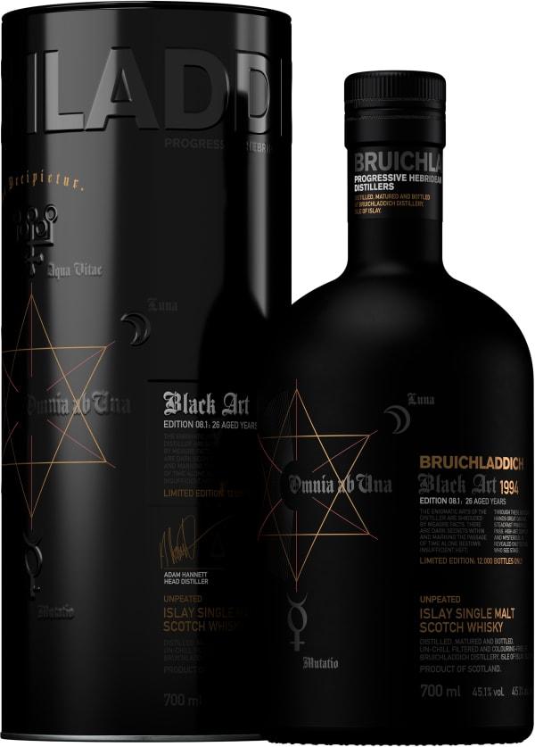 Bruichladdich Black Art 1994 Edition 08.1 Single Malt 1994