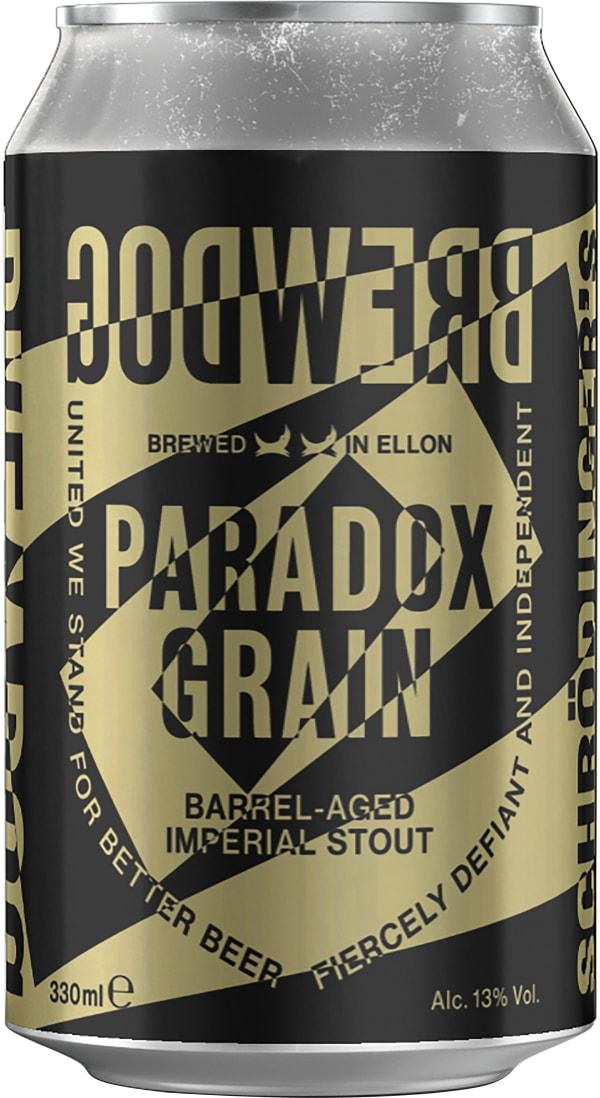 BrewDog Paradox Grain Barrel-Aged Imperial Stout can