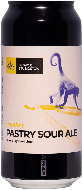Stu Mostów Monkey Pastry Sour Ale can