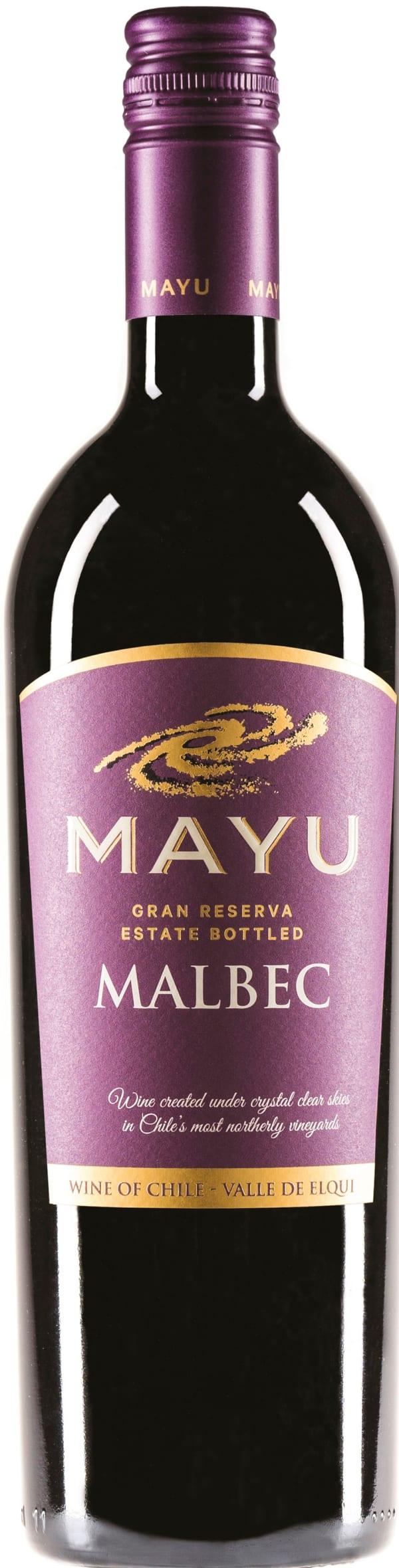 Mayu Gran Reserva Malbec 2017
