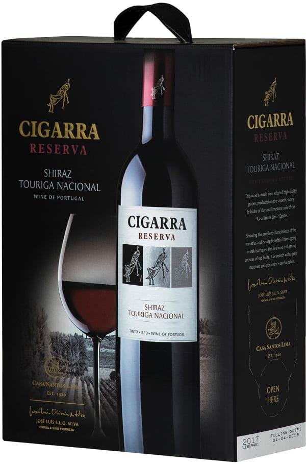 Cigarra Reserva Shiraz Touriga Nacional 2017 bag-in-box