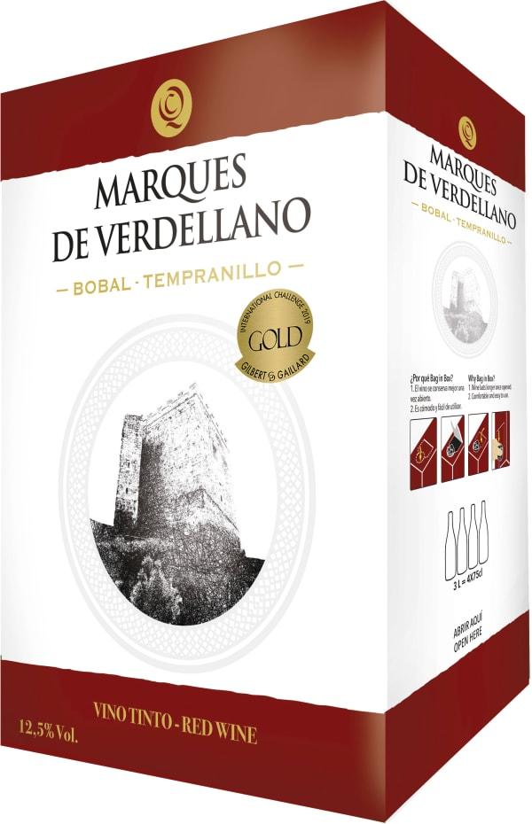 Marques de Verdellano Bobal-Tempranillo 2018 lådvin