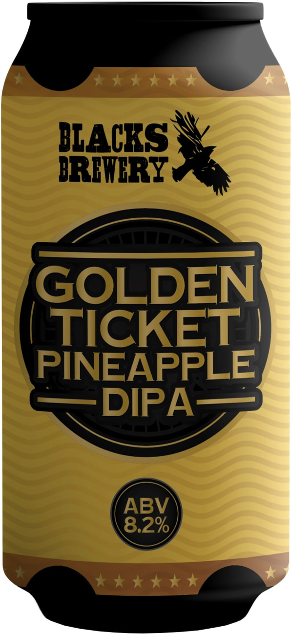 Blacks Golden Ticket Pineapple DIPA burk