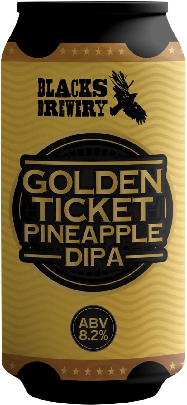 Blacks Golden Ticket Pineapple DIPA can