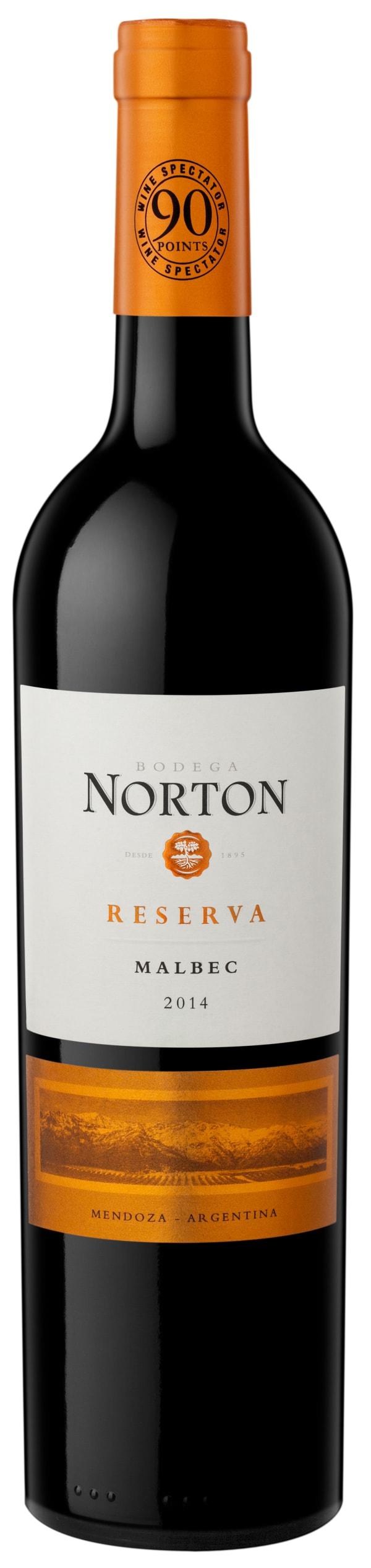 Norton Reserva Malbec 2016