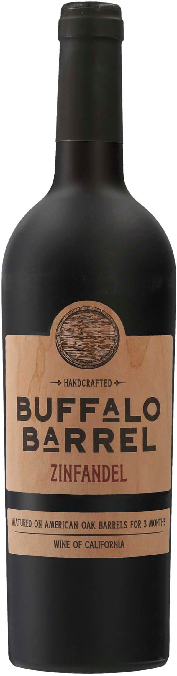 Buffalo Barrel Bourbon Barrel Aged Zinfandel 2018