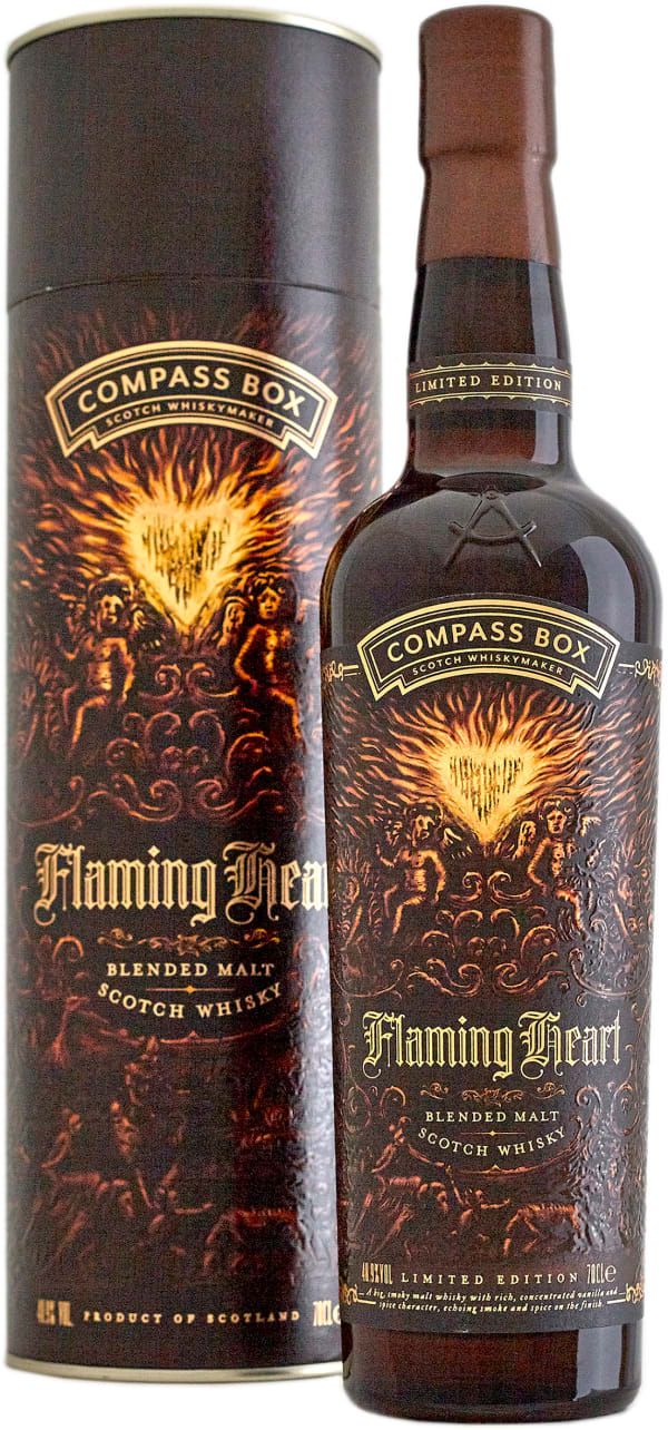 Compass Box Flaming Heart 6th Edition Blended  Malt