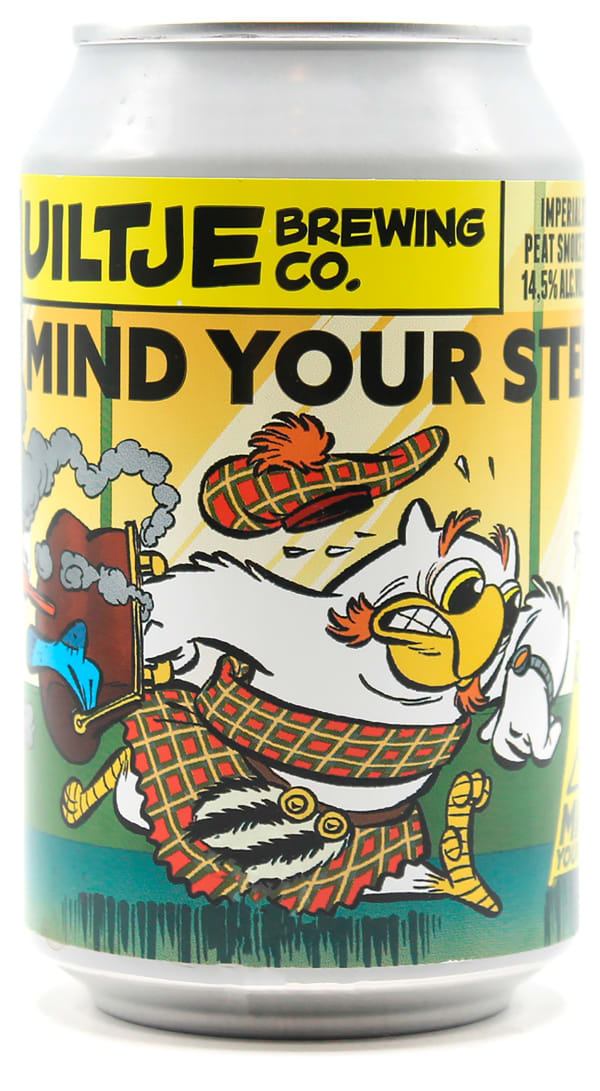 Uiltje Mind Your Step! Peat Smoke Edition burk