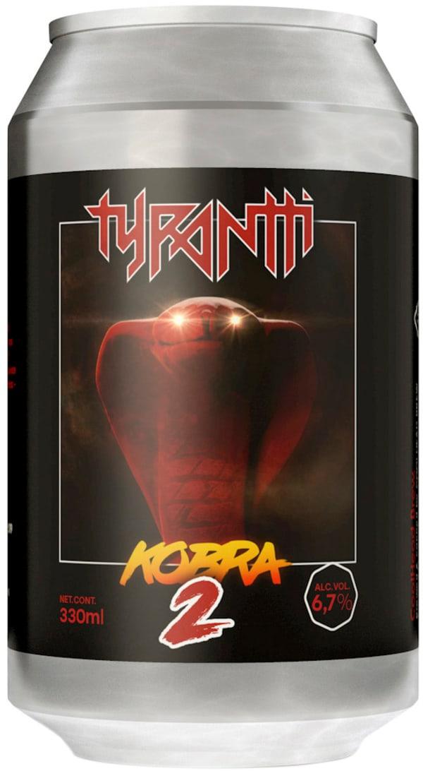 CoolHead x Tyrantti Kobra 2 NEIPA can
