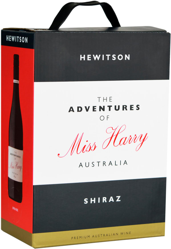 Hewitson The Adventures of Miss Harry 2018 lådvin