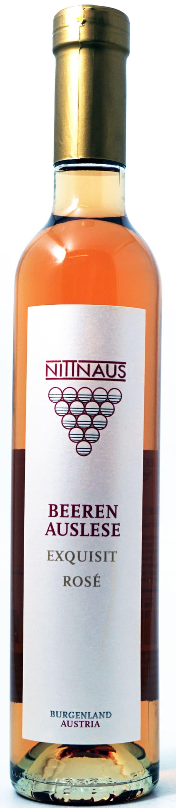 Nittnaus Beerenauslese Rosé Exquisit 2017