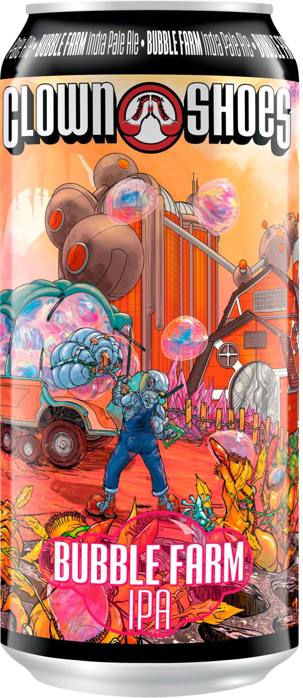 Clown Shoes Bubble Farm IPA burk
