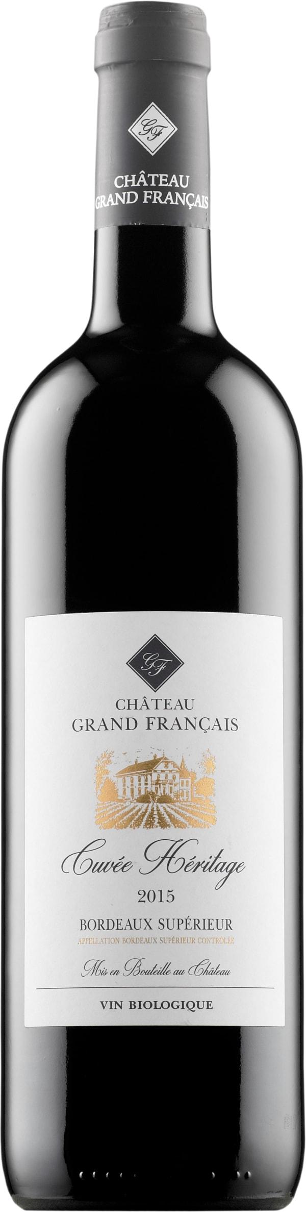 Château Grand Francais Rouge 2017