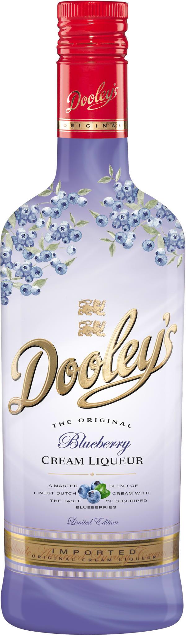 Dooley's Blueberry Cream Liqueur