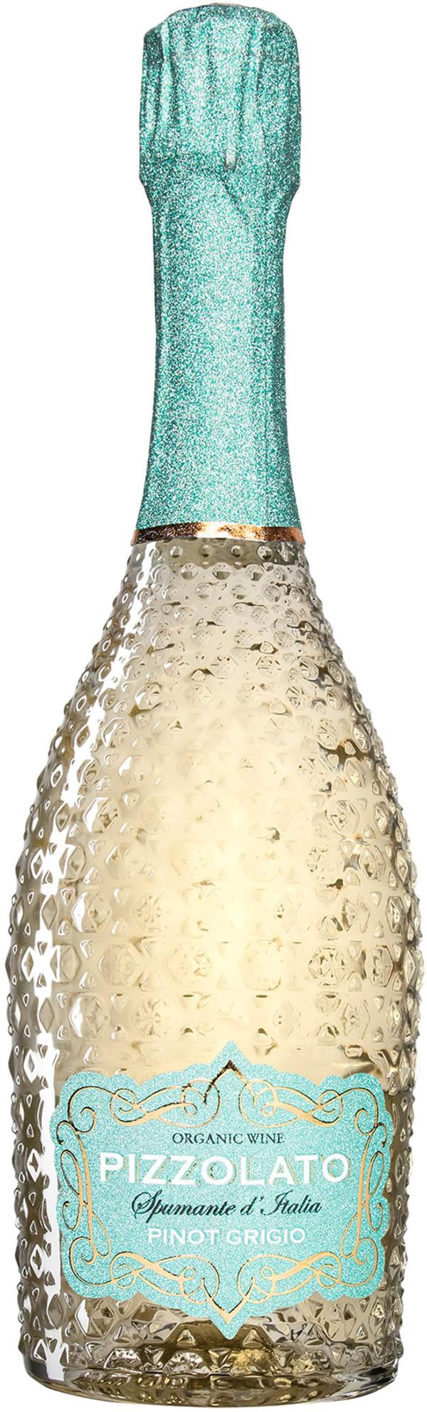Pizzolato Spumante Organic Pinot Grigio Extra Dry 2019