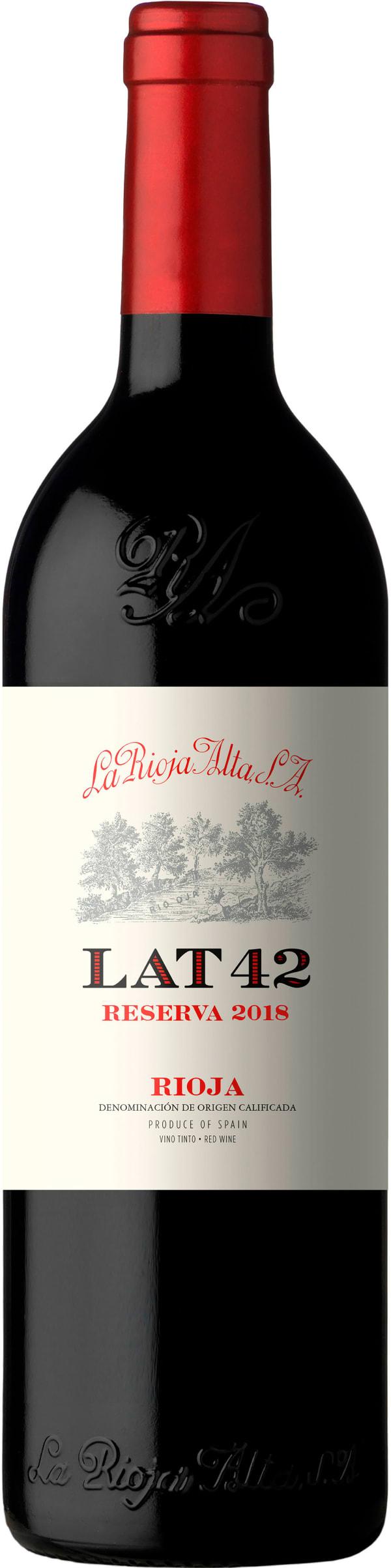 La Rioja Alta LAT 42 Reserva 2015