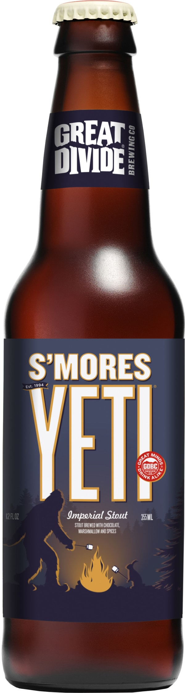 Great Divide S'mores Yeti Imperial Stout