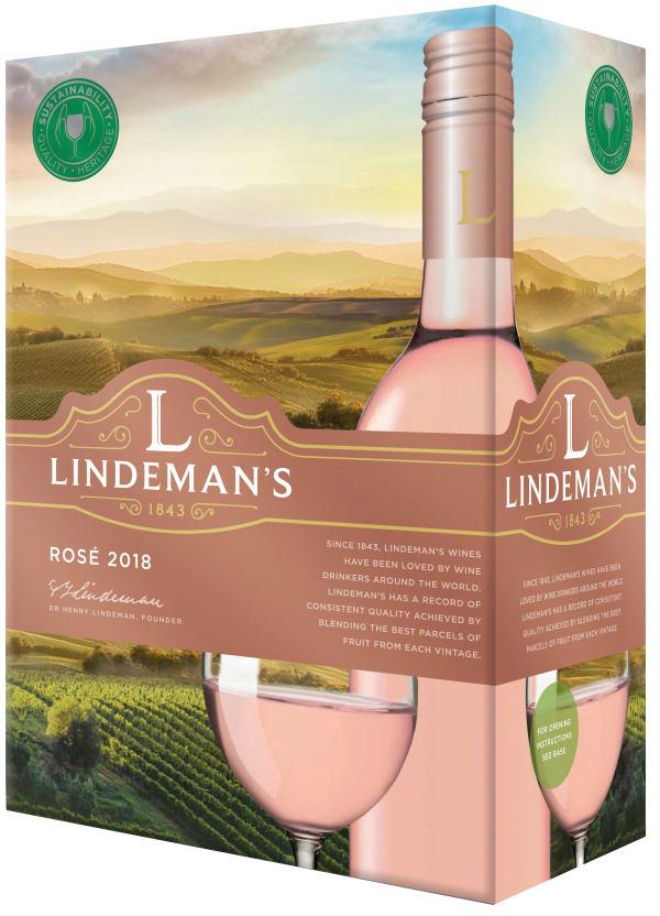 Lindeman's Rosé 2018 hanapakkaus