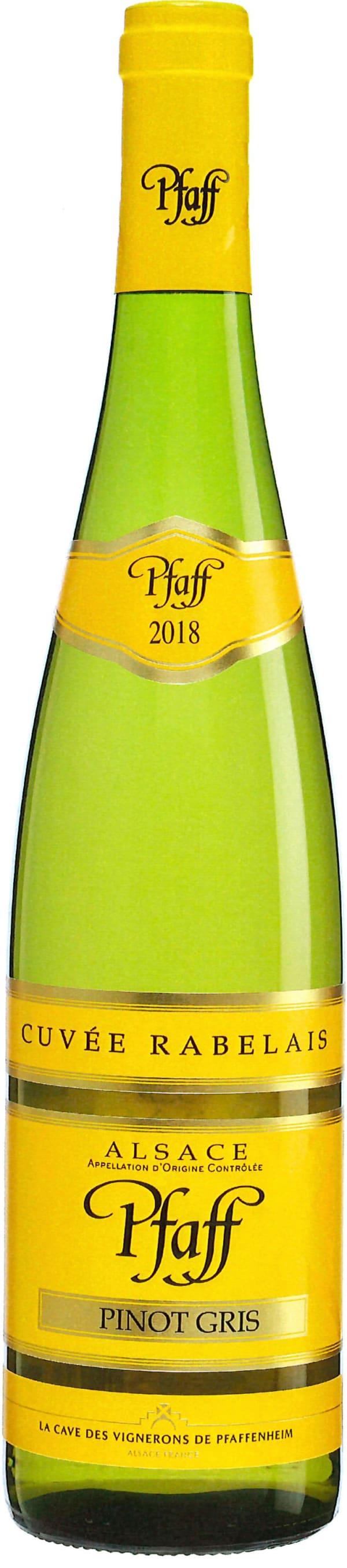 Pfaff Pinot Gris Cuvee Rabelais 2018