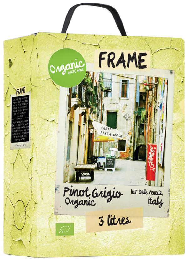 Frame Organic Pinot Grigio 2016 hanapakkaus