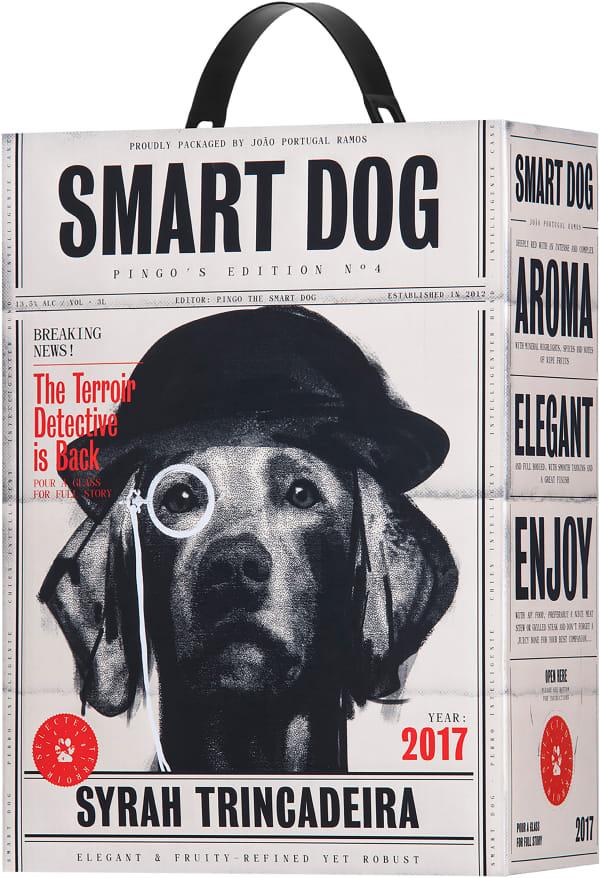 Smart Dog Syrah Trincadeira 2018 lådvin