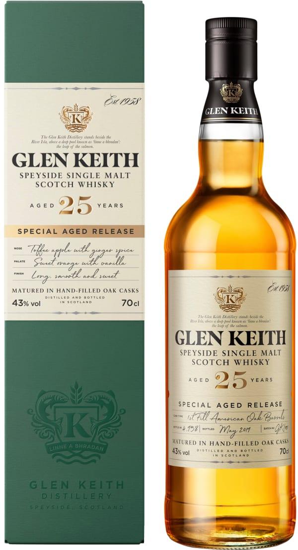 Glen Keith 25 Year Old Single Malt