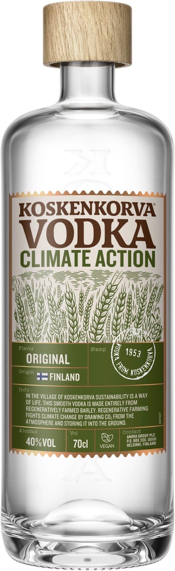 Koskenkorva Vodka Climate Action