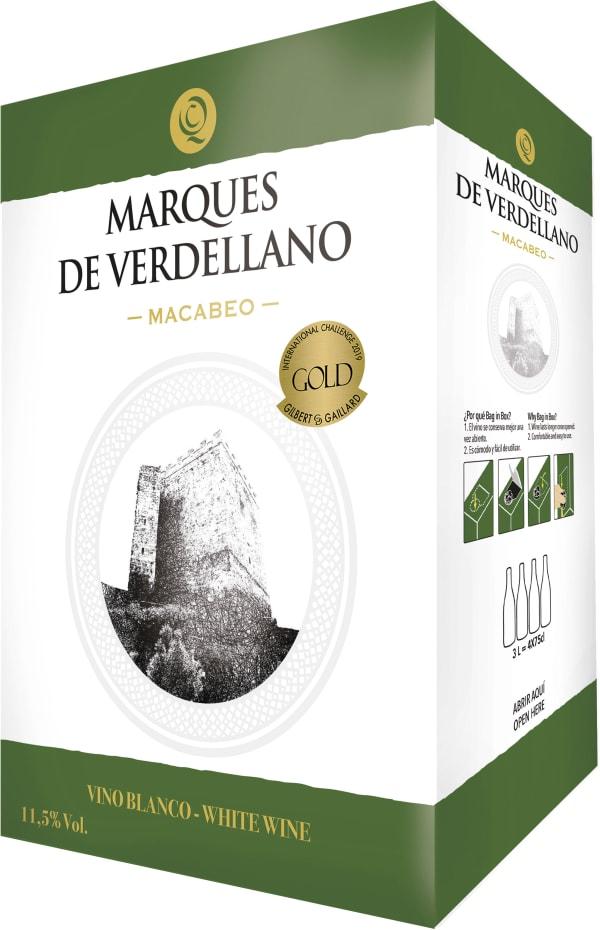 Marques de Verdellano Macabeo 2018 lådvin
