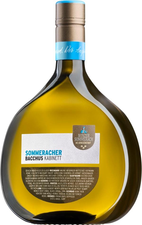 Winzer Sommerach Bacchus Kabinett 2018