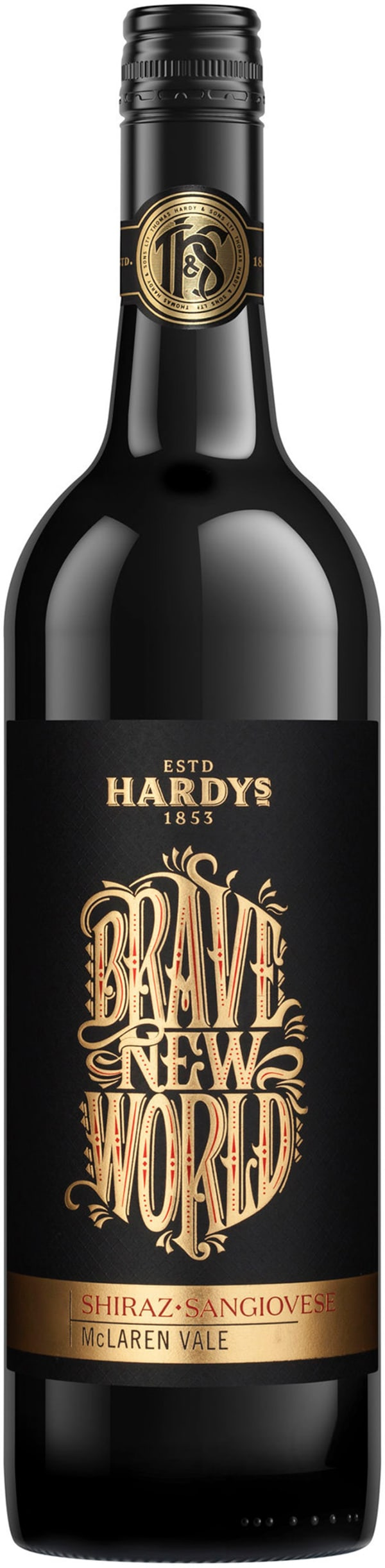 Hardys Brave New World Shiraz-Sangiovese 2017