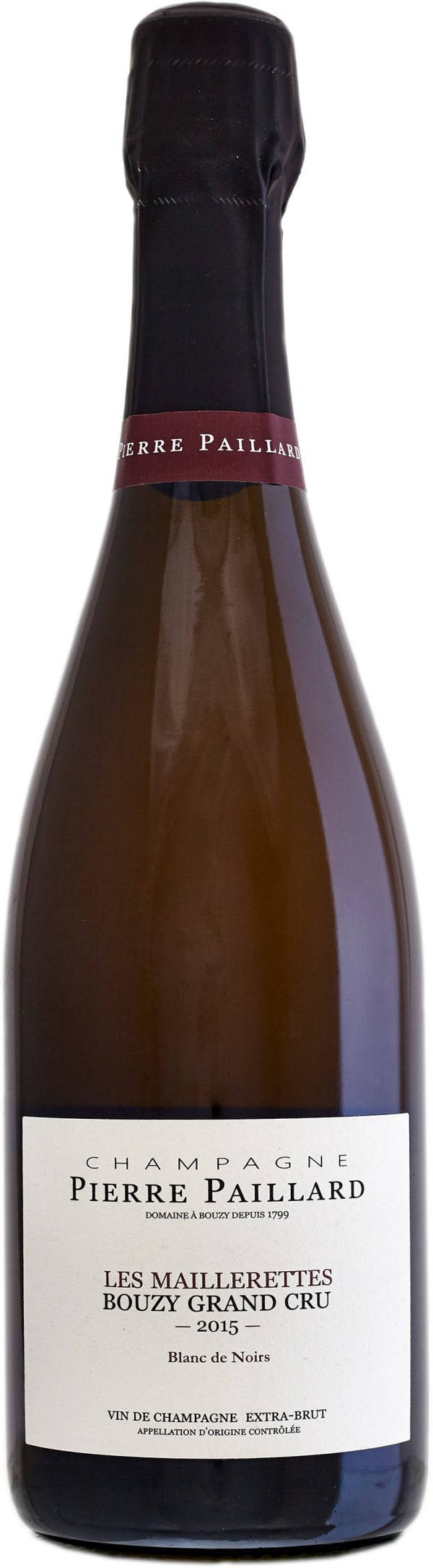 Pierre Paillard Les Maillerettes Grand Cru Blanc de Noirs Champagne Extra Brut 2014