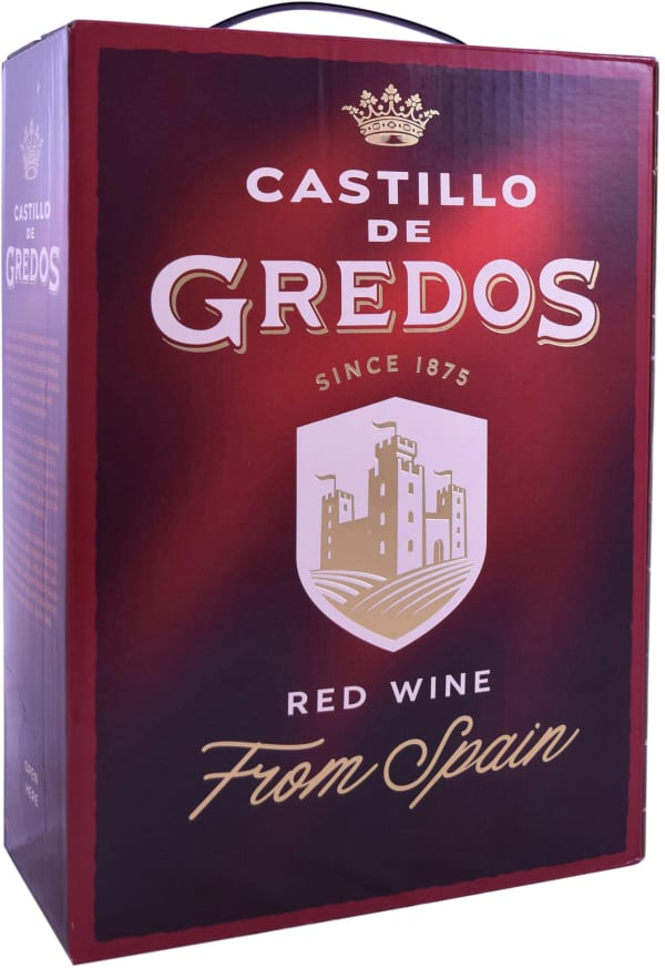 Castillo de Gredos Tinto hanapakkaus
