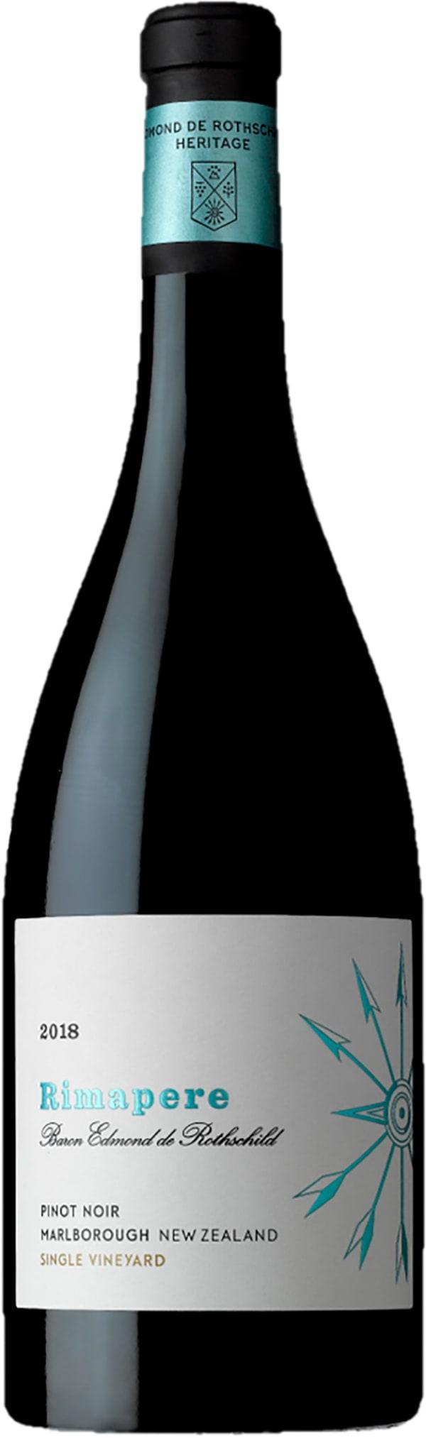 Rimapere Pinot Noir  2018