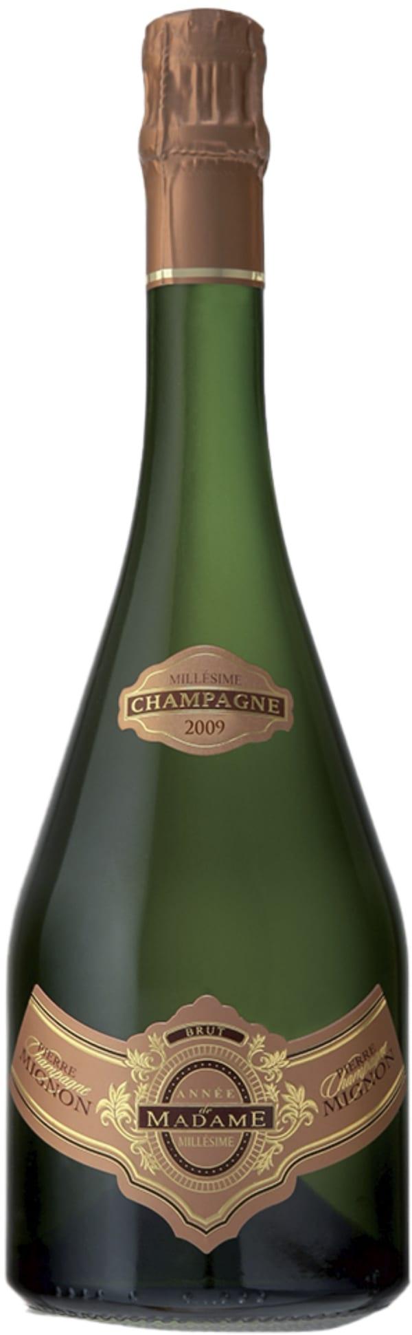 Pierre Mignon Année de Madame Millésime Champagne Brut 2009