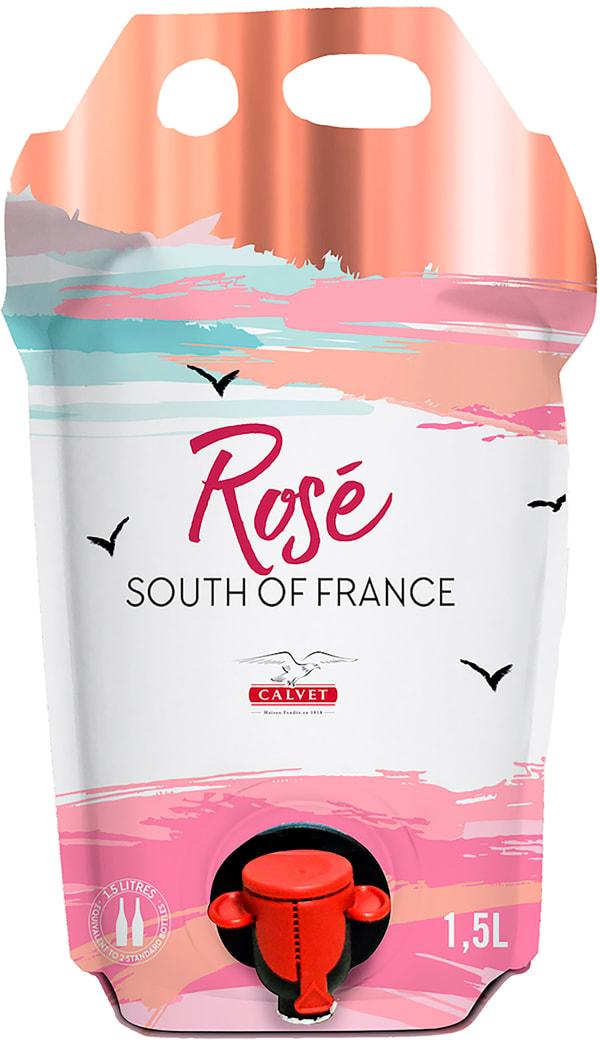Calvet Rosé 2020 wine pouch