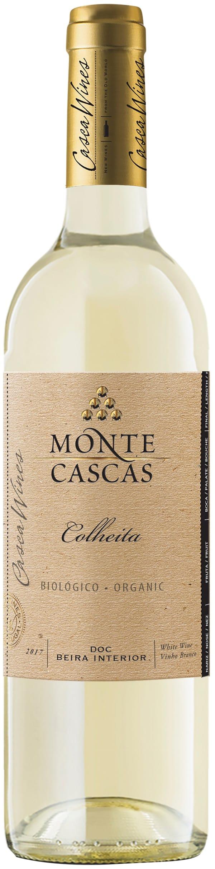 Monte Cascas Colheita Organic Branco 2018